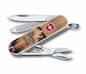 Нож Victorinox 0.6223.L1604 Classic LE 2016 «The Mountains are Calling» (58mm)